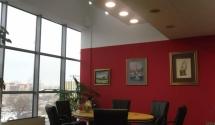 Osvetlitev pisarne in hodnikov